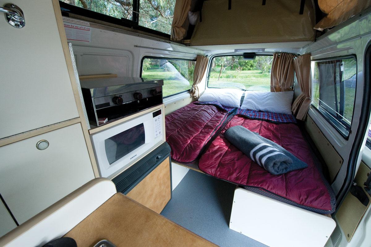 Calypso Campervans The Princess Interior Two