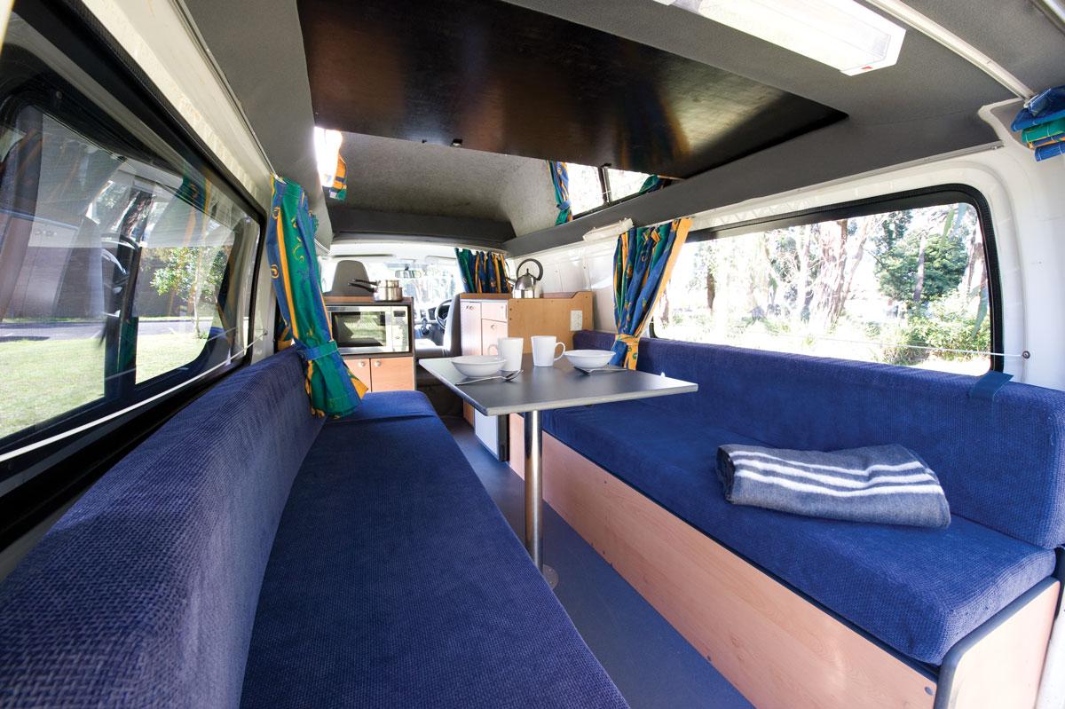 Calypso Campervans The Princess Interior