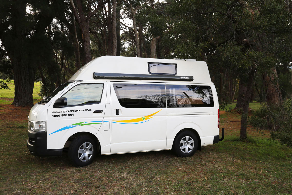 Calypso Campervans The Riverina Exterior One