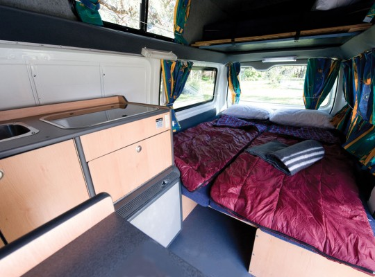 Calypso Campervans The Sturt Interior
