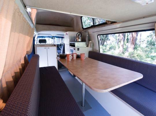 Calypso Campervans The Sturt Interior Two