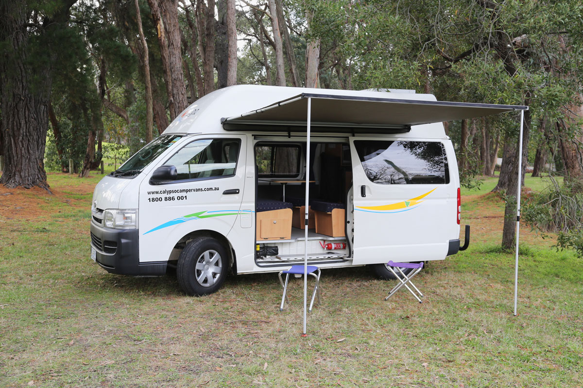 Calypso Campervans The Riverina Exterior Two