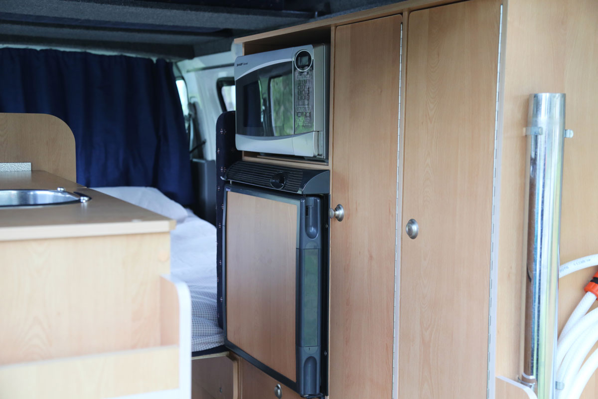 Calypso Campervans The Riverina Interior One