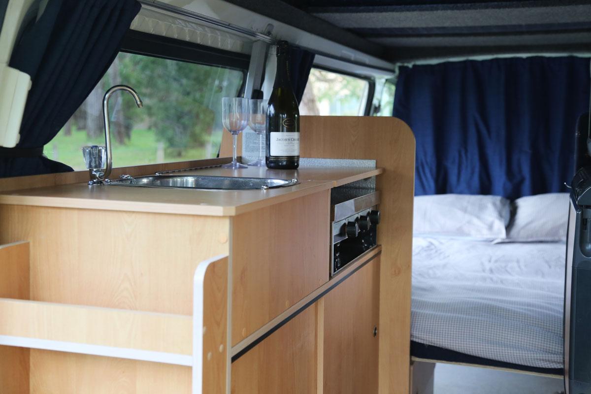 Calypso Campervans The Riverina Interior Two