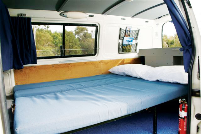 Calypso Campervans The Funkampa Interior Two