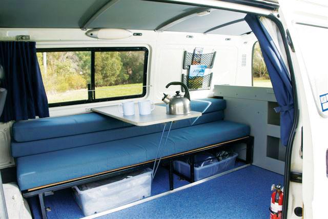 Calypso Campervans The Funkampa Interior